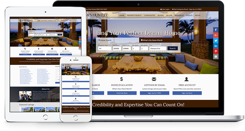 mobile friendly real estate websites 1