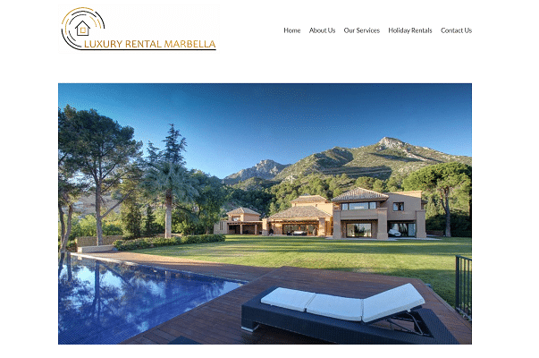 Screenshot Luxury Rental Marbella