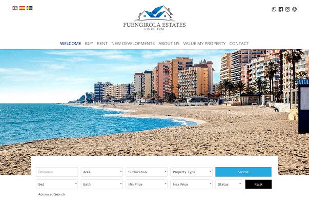 Screenshot Fuengirola Estates